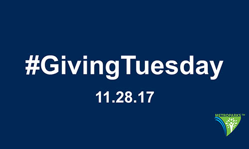 The Huron-Clinton Metroparks has joined #GivingTuesday, a global day of generosity worldwide. Click to Learn More