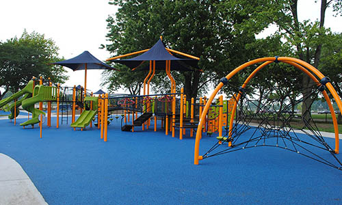 Our new playground is OPEN! Head out to the park to check out our newest addition. Click to Learn More