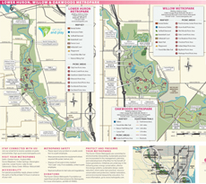 Lower Huron Park Map