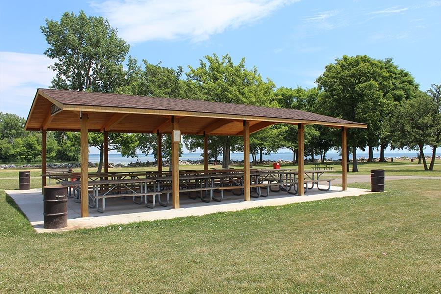Lake Erie Metropark Shelters