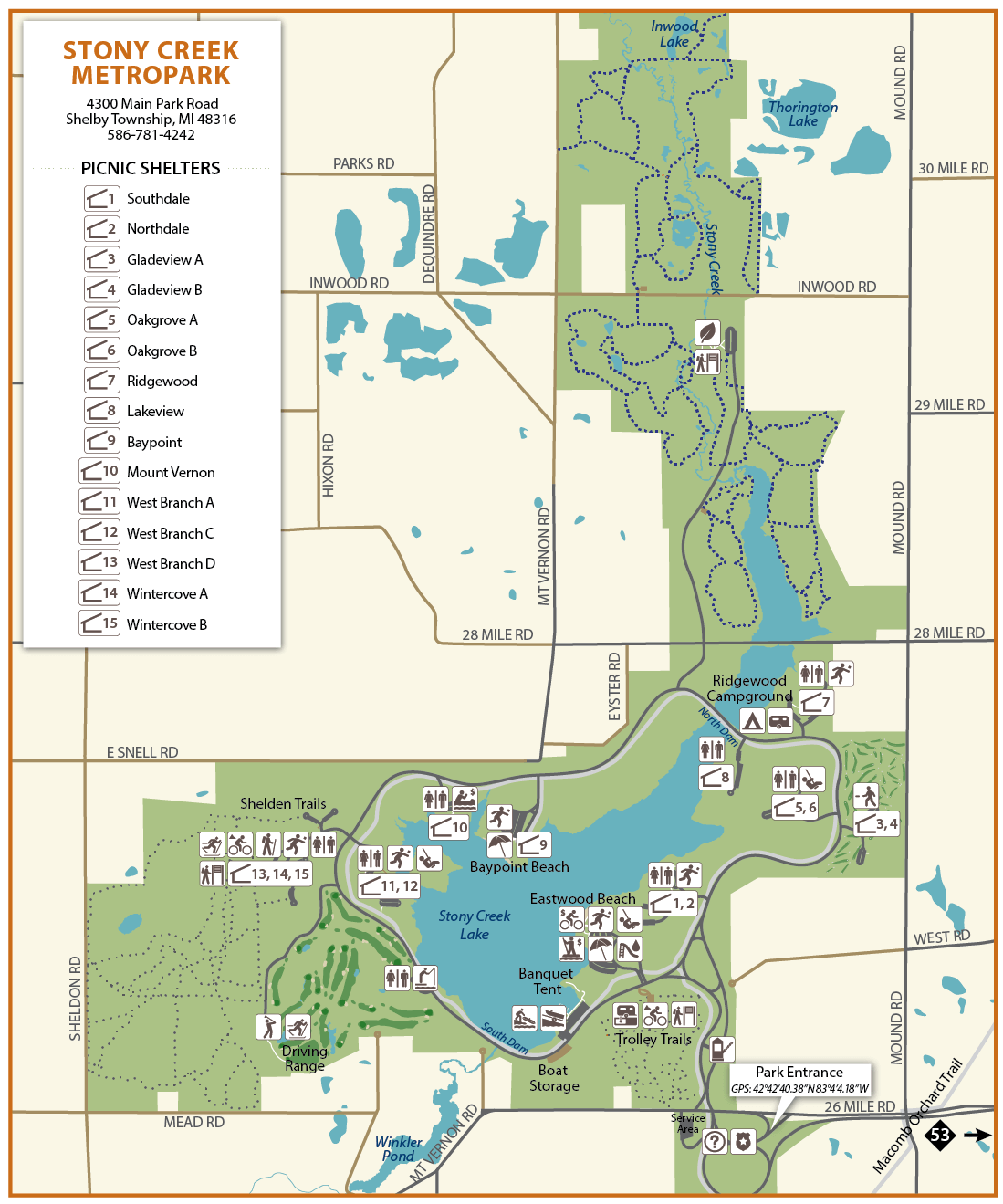 stony creek metropark map with Stony Creek Shelters Venues on 5 additionally 2340629866 moreover 5 additionally 4796151110 moreover Map.
