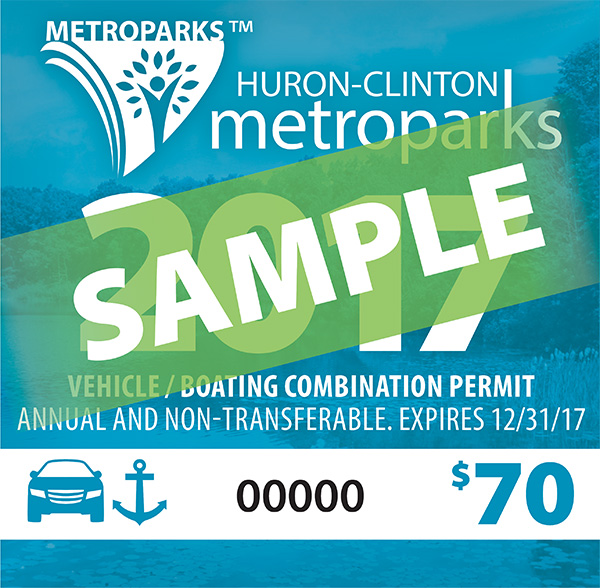 Metropark Annual Vehicle/Boat Combo Permit