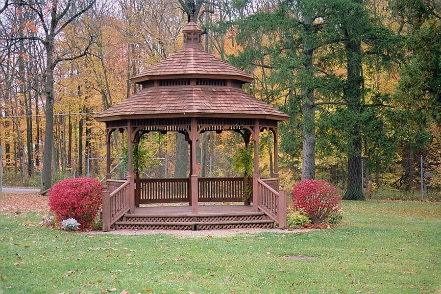Gazebo At Wolcott Mill Metropark