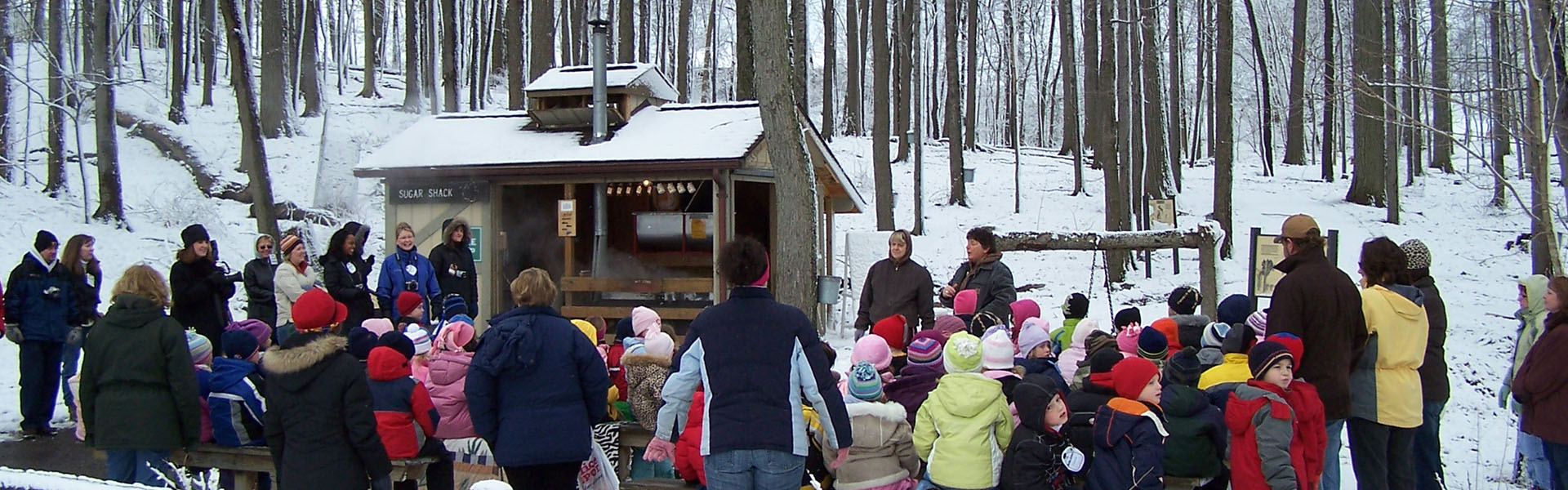 winter nature notes maple sugaring huron clinton metroparks