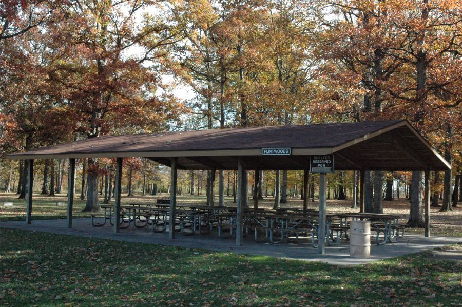 Willow Metropark Picnic Shelters