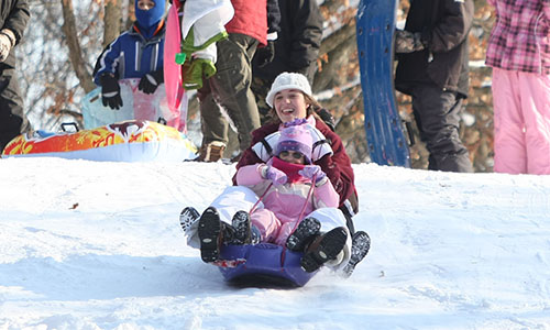 The Metroparks offer a variety of winter of activities such as snowshoeing, sledding, cross-country skiing, ice fishing, and much more. Click to Learn More
