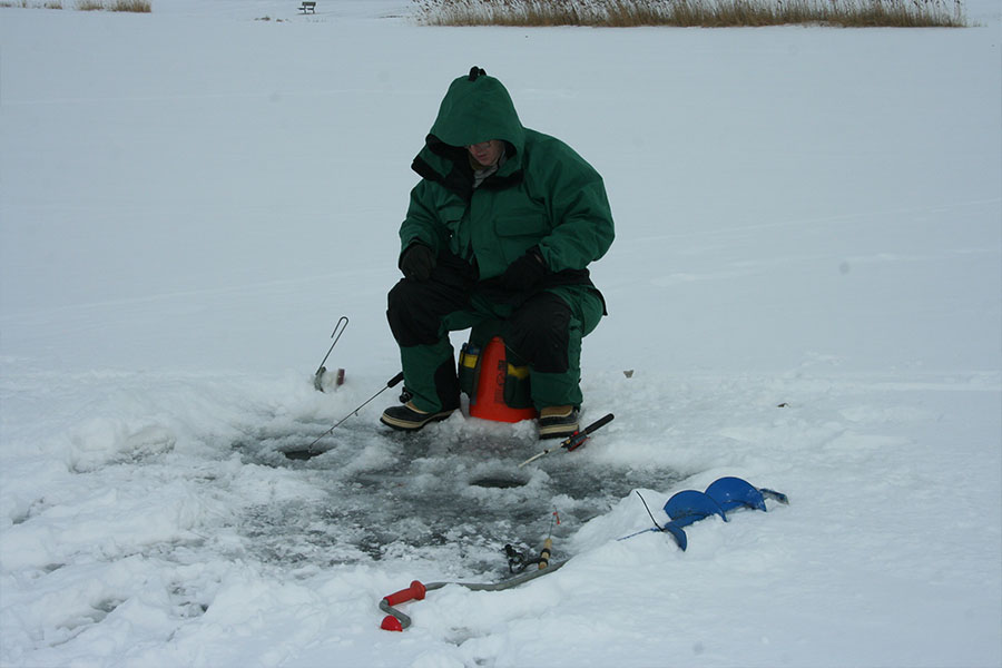 Willow Icefishing