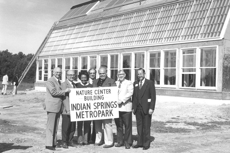 Opening of the Nature Center at Indian Springs Metropark