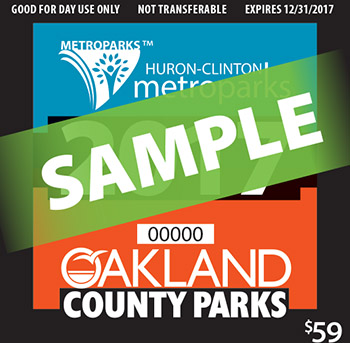 Metropark/Oakland County Parks Annual Vehicle Permit