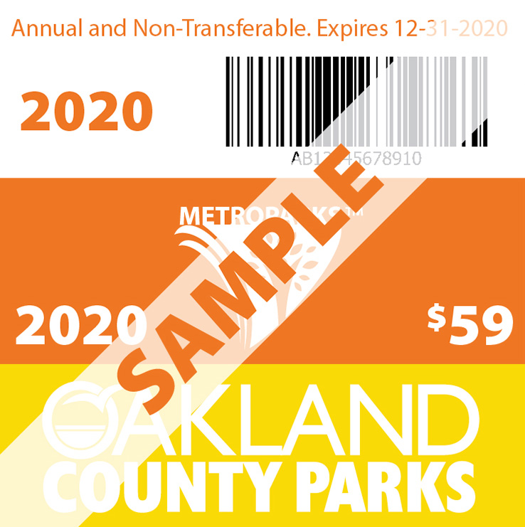 Metropark/Oakland County Pass