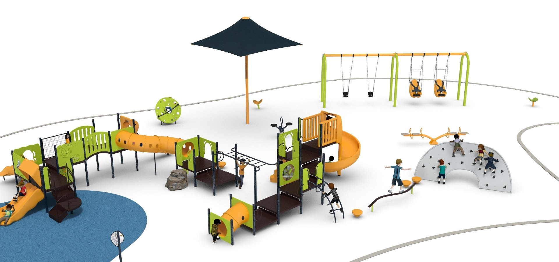 Lake St. Clair Playground Rendering