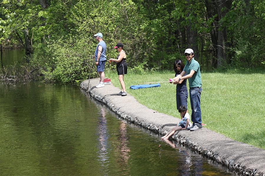 Hudson Mills FishingDexter, MI