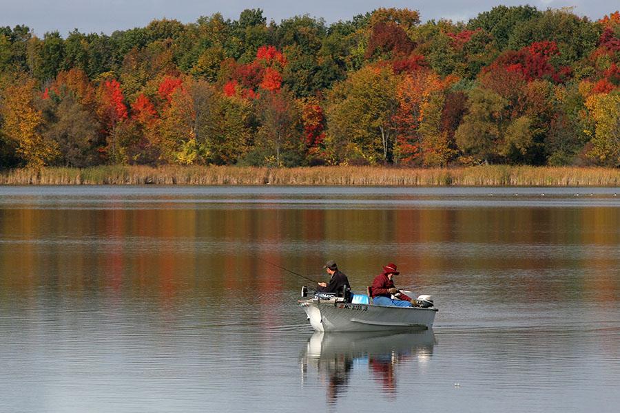 Stony Creek FishingShelby Township, MI